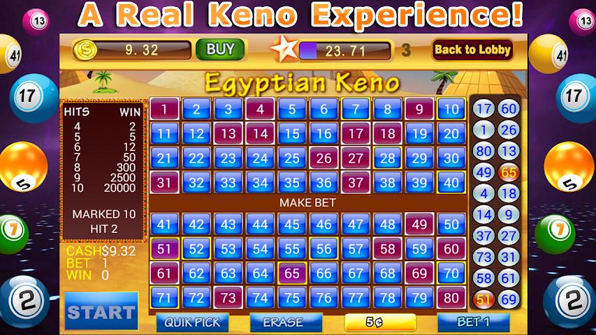 android Keno Blitz– Video Casino Pro Screenshot 0