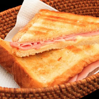 Amazing Crockpot Ham and Cheese Sandwich