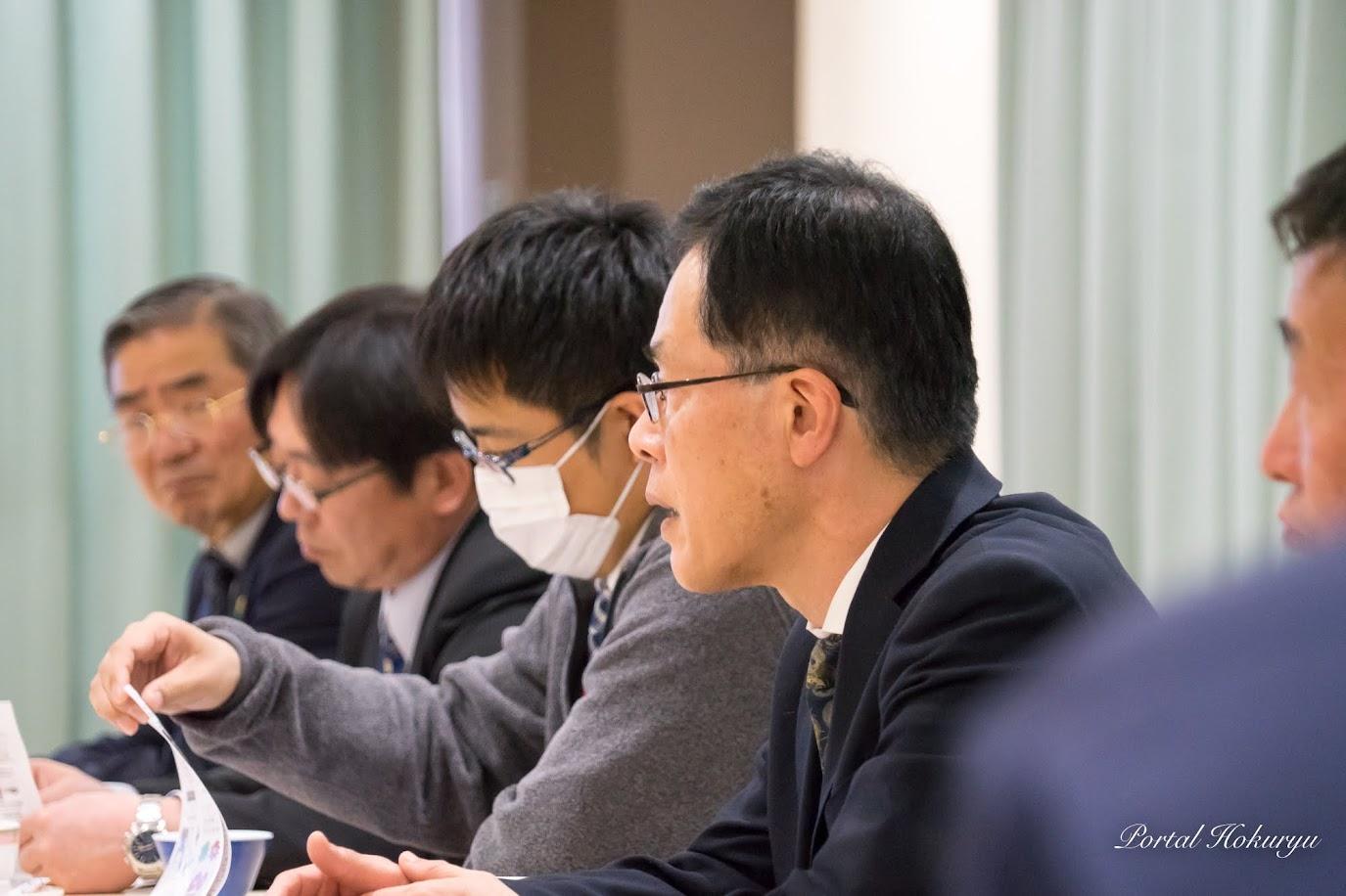 役場企画振興課・東郷弘之 専門官