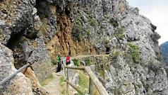 Imagen de archivo de una ruta de senderismo.