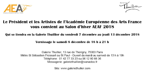 AEAF_Salon d'hiver 2018 Galerie Thuillier 2018