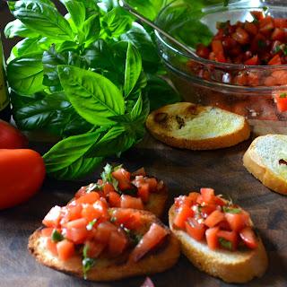Tomato-Basil Bruschetta.