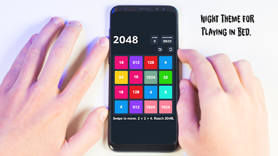 2048 Challenger Puzzle - náhled