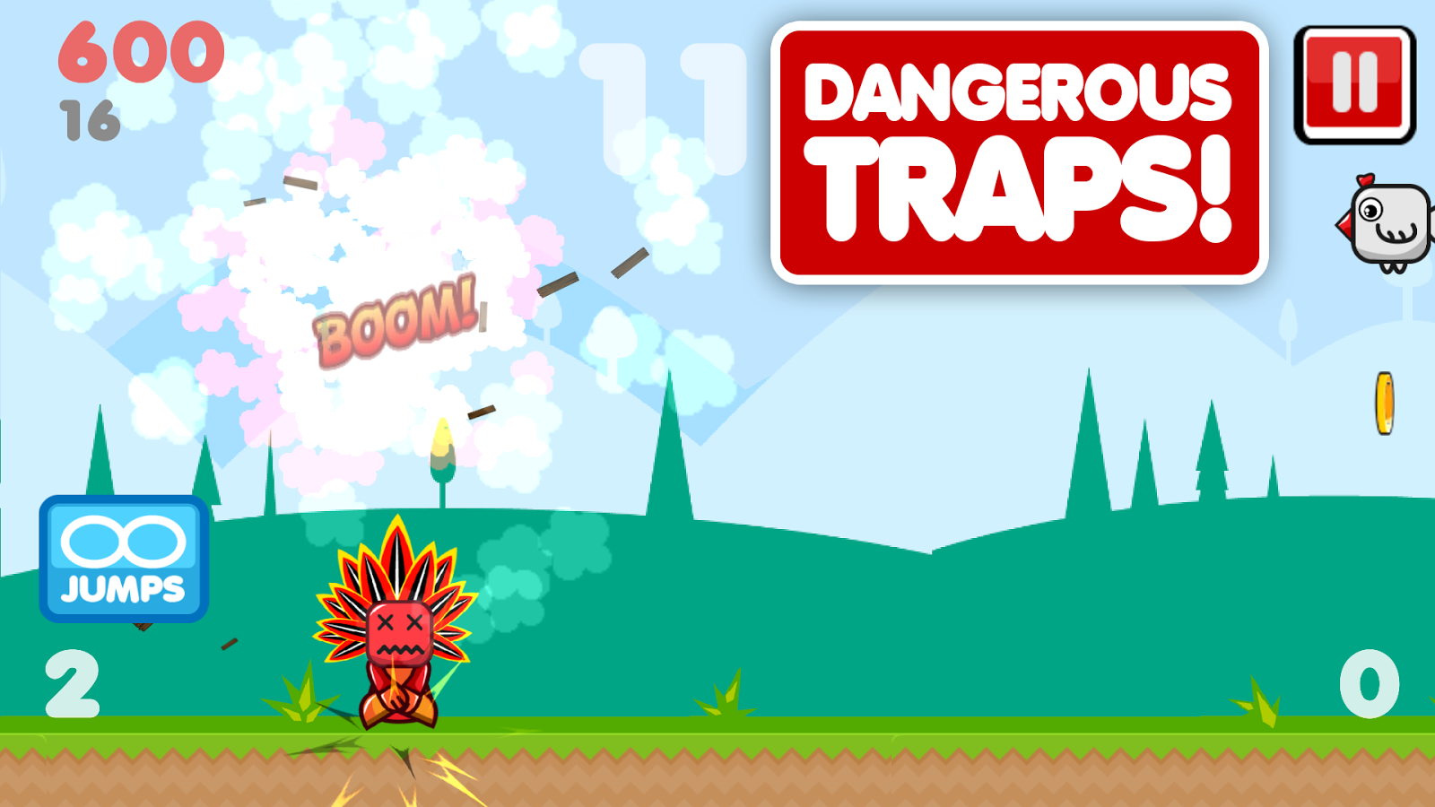 Google Play Featured Game Deadly Spikes Gets An Update