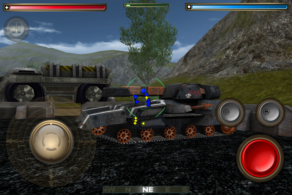 Tank Recon 2- screenshot