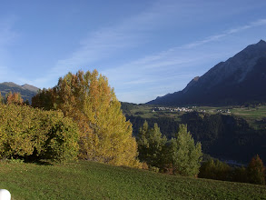 Photo: Graubünden, Stierva - Blick Richtung Lenz