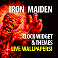 Iron Maiden Clock Widget And Themes APK