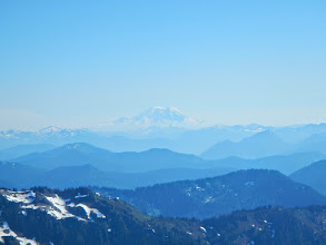 Photo: Mt Rainier stands out in the distance