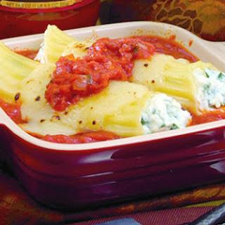 Tomato Basil Cannelloni