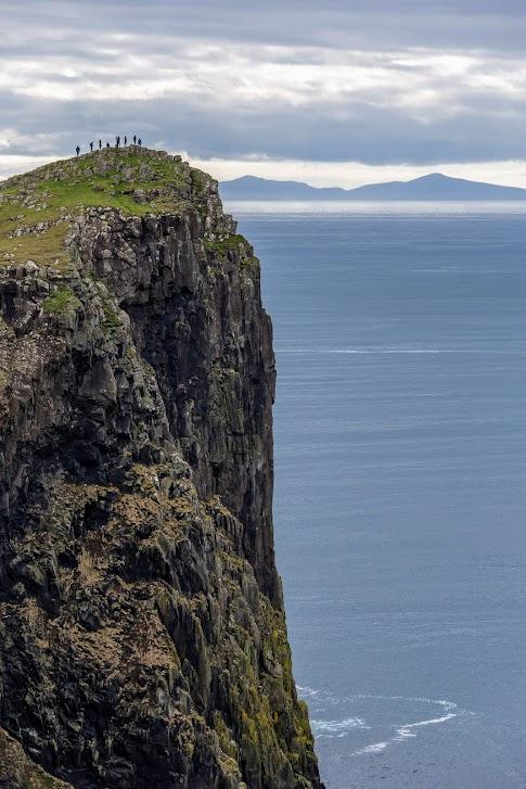 Szkocja, Latarnia Morska Neist Point, atrakcje Wyspy Skye