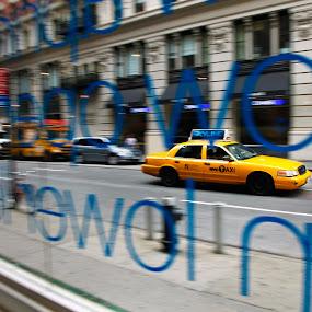 NYC Cab by Surentharan Murthi - Transportation Automobiles