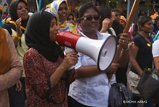 Photo: International women's day protest 8/3/2012