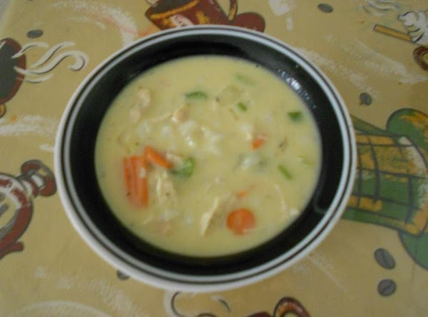 Steph's Way To Make Cream Of Chicken And Rice Soup Recipe