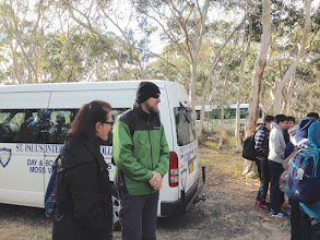 Photo: Day 11: Bushwalking wiht the teachers from St. Paul's International College