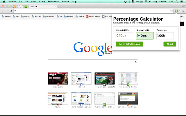 Percentage Calculator