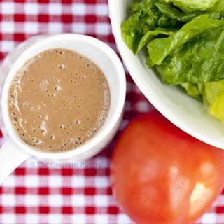 Clean Eating Balsamic Garlic Cashew Dressing