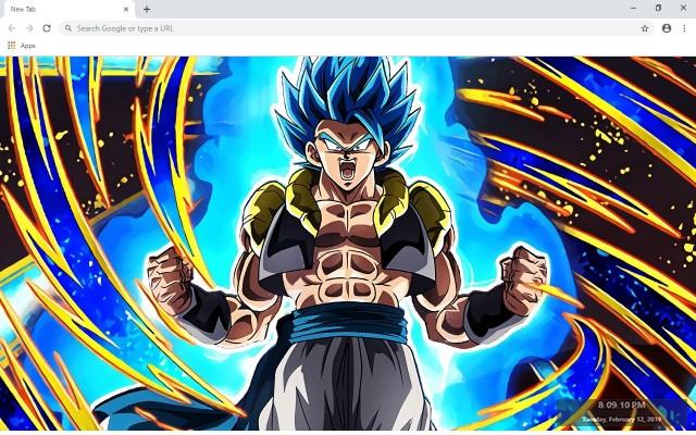 Dragon Ball Super Broly Full HD New Tab