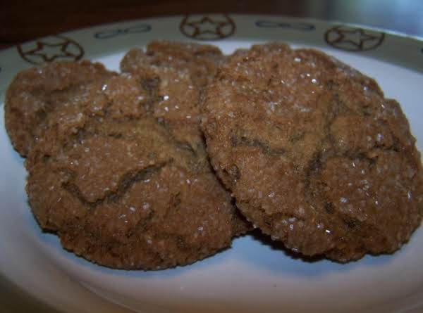 Aunt Katie's Molasses Cookies Recipe