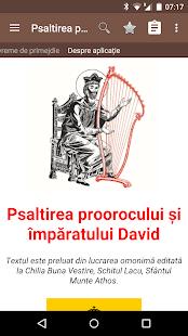 Psaltirea proorocului David Ekran Görüntüsü