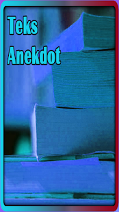 TEKS ANEKDOT - náhled