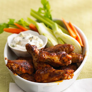 Chicken Wings with Citrus Pepper Rub.
