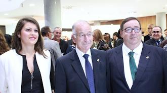 Ángeles Martínez, Gabriel Amat y José Juan Rubí.