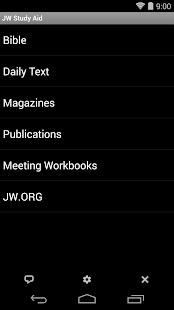 JW Study Aid - náhled