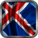 Icelandic Flag Live Wallpaper icon
