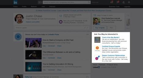 LinkedIn Ads Tips - Text Ad