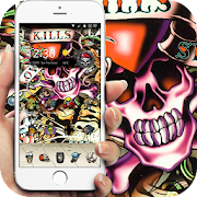 App skull Street Graffiti theme APK for Windows Phone