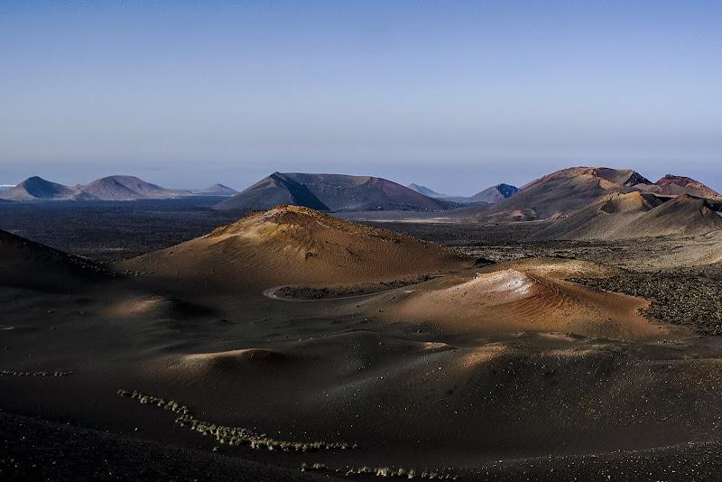 Paesaggi vulcanici di Nefti-Monica