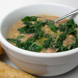 Crock Pot White Bean & Spinach Soup