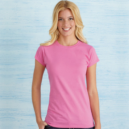 Gildan Ladies' Soft Style T-Shirt - Red