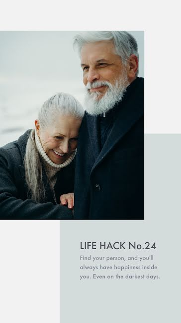 Life Hack 24 - Facebook Story template