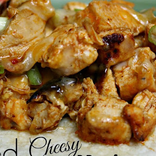 Baked Cheesy Mexican Chicken