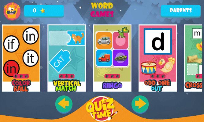 Fun Games for Kids - English - screenshot