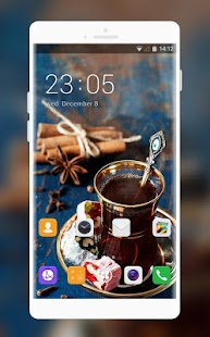 Theme for Huawei M886 - náhled