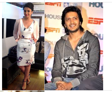 Parineeti Chopra and Ritesh Deshmukh