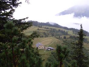 Photo: Schesaplana - Hütte 1908 m, Ausgang für die Gipfeltour