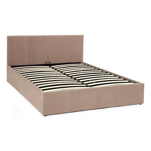 Serene Evelyn Ottoman Bed Frame Steel