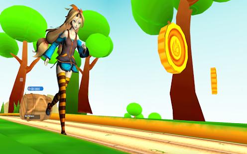 Lady Princess Run : Cute Girl - náhled