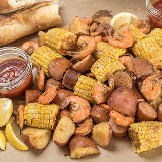 Slow Cooker Lowcountry Boil.