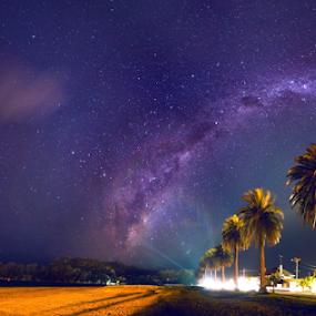 ~~ G A L A C T I C ~~ C O R E ~~ by Anupam Hatui - Landscapes Starscapes ( milkyway, stars, night, nightsky, galactic core, landscape, starscape,  )