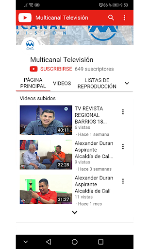 Multicanal Televisión screenshot 3