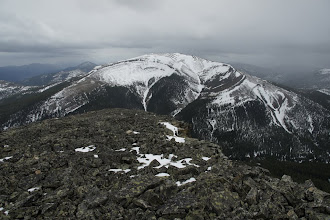 Photo: Unnamed peak to the south of Isola.