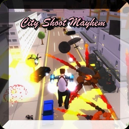 City Shoot Mayhem 動作 LOGO-玩APPs