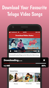 Telugu Video Status App Download For Android and iPhone 4