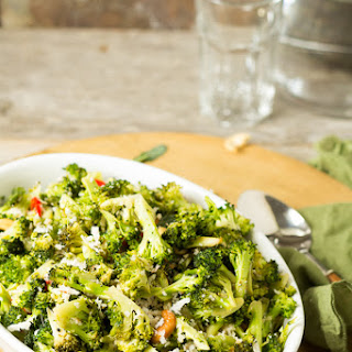 Broccoli-Cashew Poriyal
