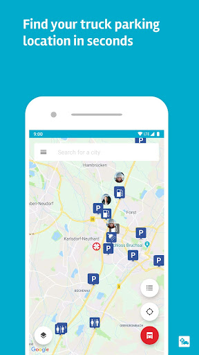 Truck Parking Europe - screenshot