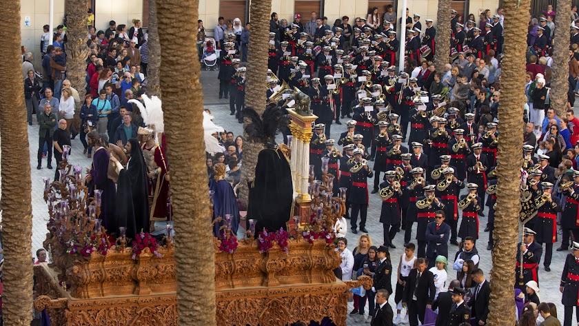 La Hermandad de la Macarena pasará por la Catedral por primera vez en la noche del Miércoles Santo.